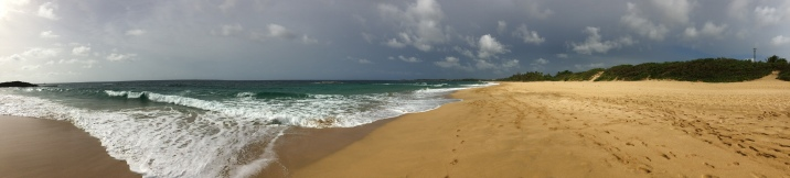 Northern coast of Puerto Rico