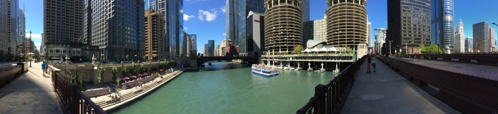 In the heart of Chicago