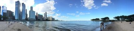 South-western coast of Lake Michigan