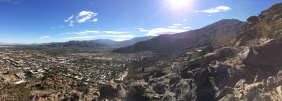 From the mountains of Palm Springs