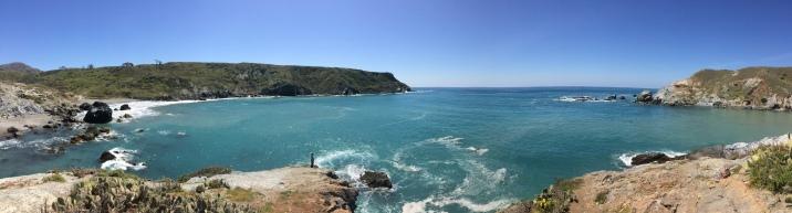 East coast of Catalina Island